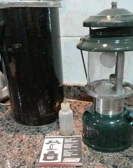 Vendo lámpara a kerosene Coleman modelo 214A700