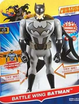 Figura de Colección Batman Alas Batalla nuevo