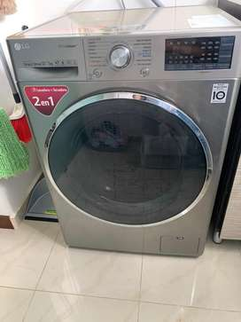 Vendo Lavadora Secadora LG de 12 kg