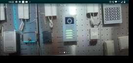 Intercomunicadores cámaras de seguridad alarmas instalacion manteniento Electricista
