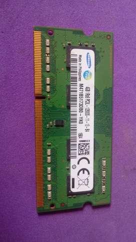 memoria ram 4gb samsung portatil