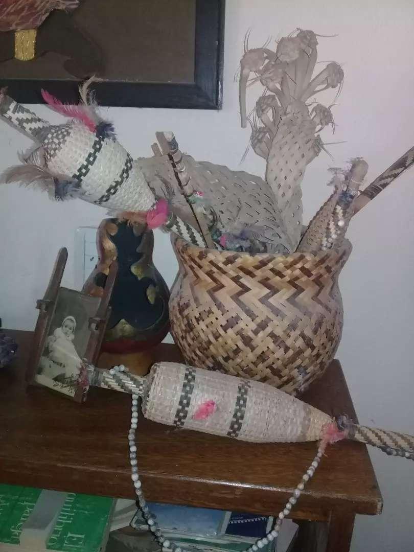 Vendo canastos y artículos de adornos hechos x los indios