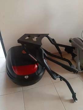 Parrilla y maletero para Suzuki gixxer