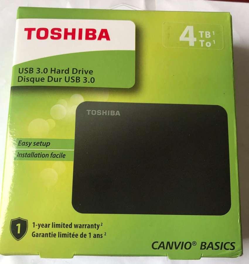 DISCO DURO EXTERNO TOSHIBA 4TB 0