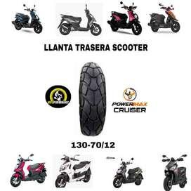 Llanta trasera Agility 125