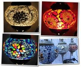 Lamparas Turcas O Veladores Mosaico Artesanales