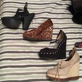 Lote de zapatos en excelente estado