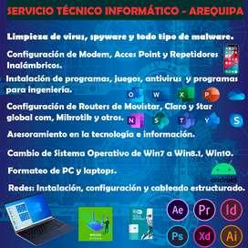 Servicio Técnico informático Arequipa