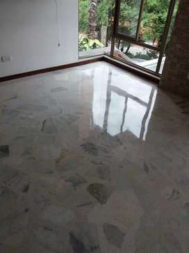 Pulido Cristalizado en pisos de Marmol baldosa Granito terrazo Madera