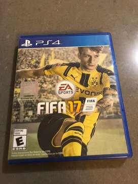 Vendo juego de Fifa 17