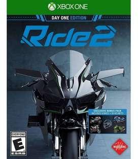 Ride 2 Xbox One, Físico