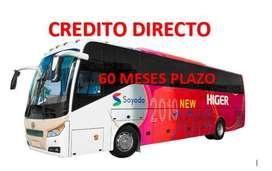 BUS INTERPROVINCIAL MARCA- HIGER MODELO 6128K- CREDITO DIRECTO-FINANCIMIENTO-FACILIDADES DE PAGO