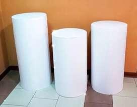 Alquilo cilindros y cubos para todo tipo de eventos