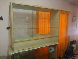 Mueble mostrador de panadería