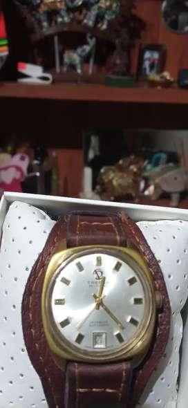 Reloj tressa suizo automatico
