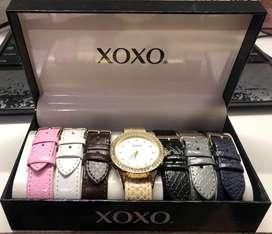 Reloj XoXo correas intercambiables para mujer