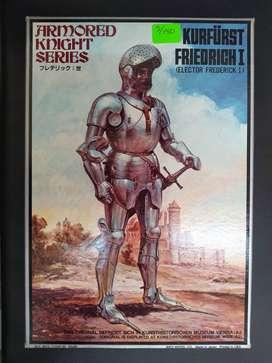 1/12 Figura Caballero Federico I Medieval Aleman Tanque