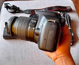 Vendo camara Canon rebel T6