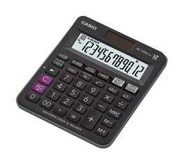 Calculadora Casio MJ-120D Plus 12 Dígitos Luz Solar
