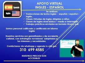 Traducciones de textos Ingles / Español