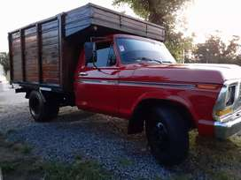 Ford 350 80 v8 f2 gnc impecable