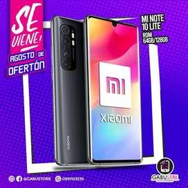 Xiaomi MI NOTE10 LITE 128GB y 6gb ram  NUEVO SELLADO CON GARANTÍA