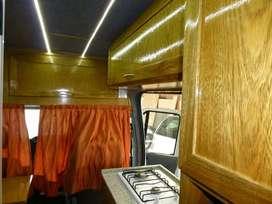 Vendo motorhome Ford Transit mod.2012  km impecable !!!El más alto y largo.
