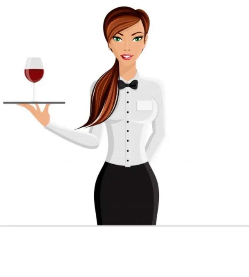 Señorita para mesera y oficios varios con Experiencia 0