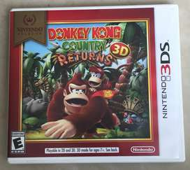 Donkey Kong Country Returns 3d Juego Fisico De Nintendo 3ds