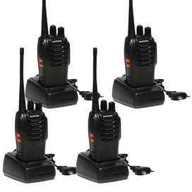 Walkie Talkies Baofeng 888s Radio Telf 4 Unid 50km PAGA AL RECIBIR