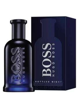Perfume Hugo Boss bottled night 200 ML original caballero