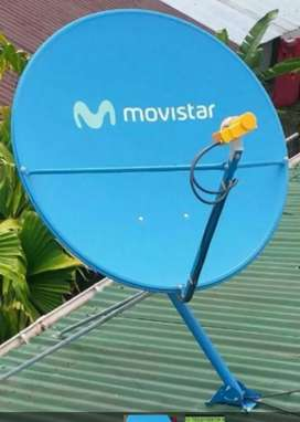 Cable y plan pospago Movistar