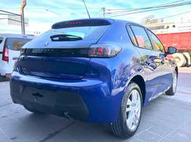 Peugeot 208 Active 1.6 0km año 2021 - Julian Lobelos Automotores