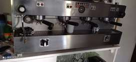 Cafetera Express Lagorio profesional de 4 bocas