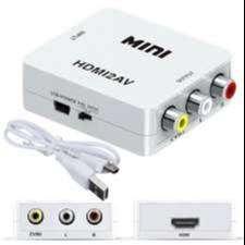 Convertidor Rca A Hdmi Con Audio Para Pc(vga) A Tv (hdmi)
