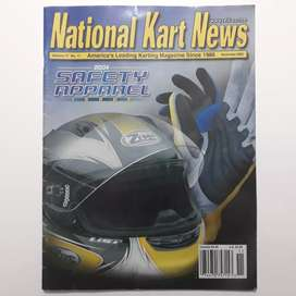 Revista National Karts News Norteamericana año 2003 karting