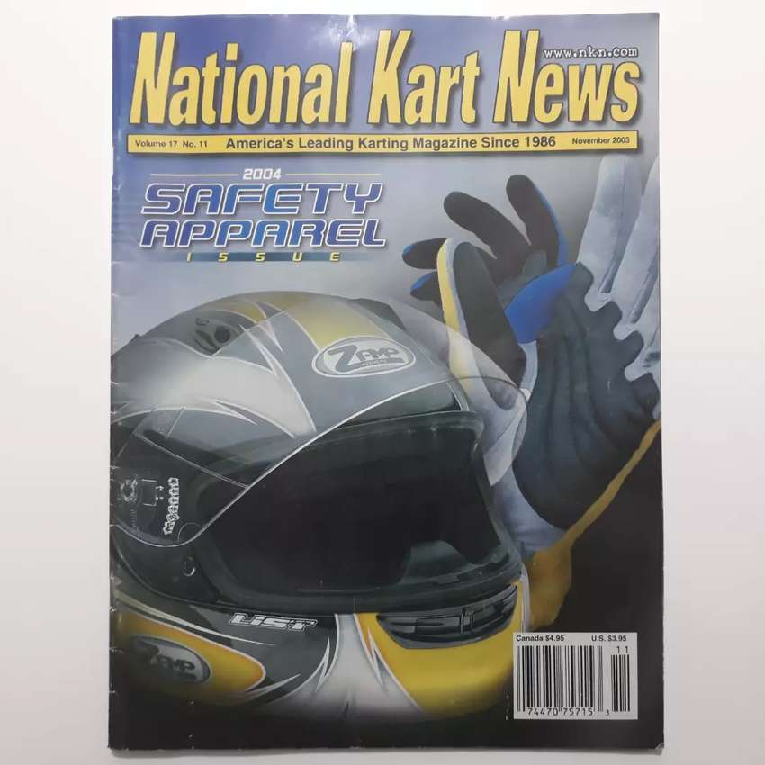 Revista National Karts News Norteamericana año 2003 karting 0