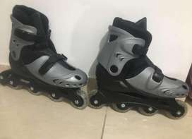 Patines chicago mas kit de proteccion