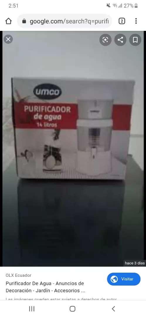 Purificador de agua umcon 0