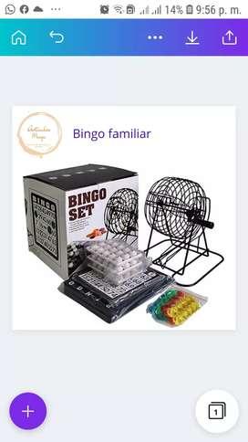 Bingo familiar