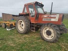 Vendo tractor FIAT AGRI 1180DT