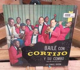 Vinilo Long Play Lp Dísco Acetato Pasta Vinyl Discos Cortijo y Su Combo