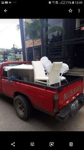 Fletes mudanza camioneta grande balde largi :!