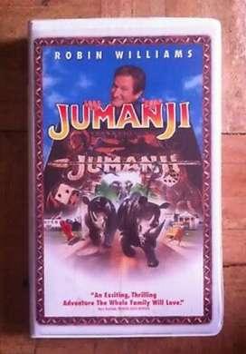 Pelicula Jumanji VHS 1996