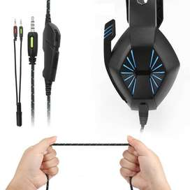 A1 auriculares estéreo para Gaming 7,1 auriculares para juegos