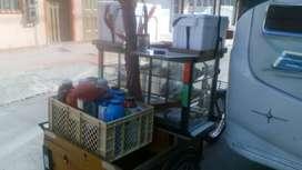 Triciclo, mini cafetería Ambulante
