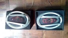 02 Parlantes Xplod 6 X9 - 420w