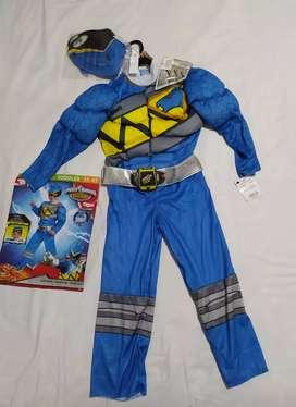 Disfraz power Ranger talla 3 - 4