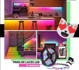 Luces led con control