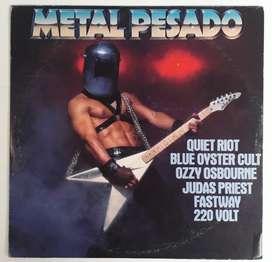 Compilado Metal Pesado Vinilo Rock Heavy Metal Lp Venezuela
